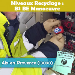 Formation (recyclage) BS BE Manoeuvre