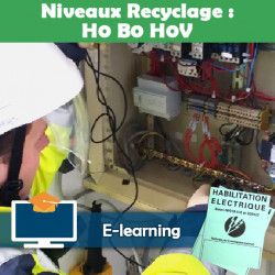 Formation H0 B0 H0v recyclage - e-learning