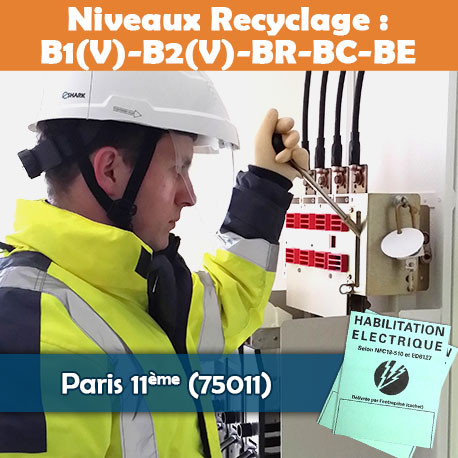 Formation (recyclage) B1V B2V BR BC BE - Paris