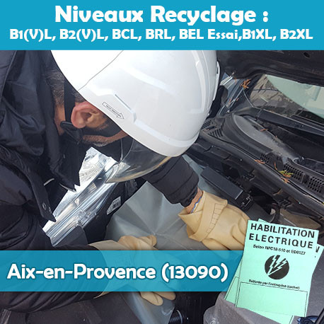 Formation NCF 18-550 (recyclage) - AIX-Pce