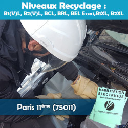 Formation NCF 18-550 (recyclage) - PARIS